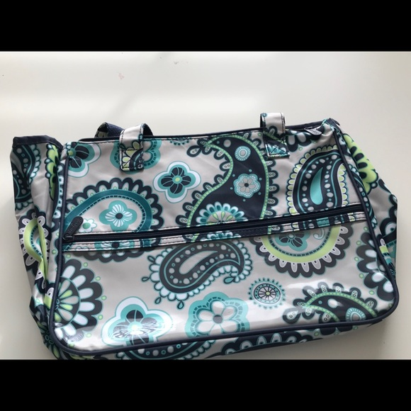 7dc4f9a654d3 Thirty One Handle It Cosmetic Bag. M 5bf2cfe103087c5984777e57